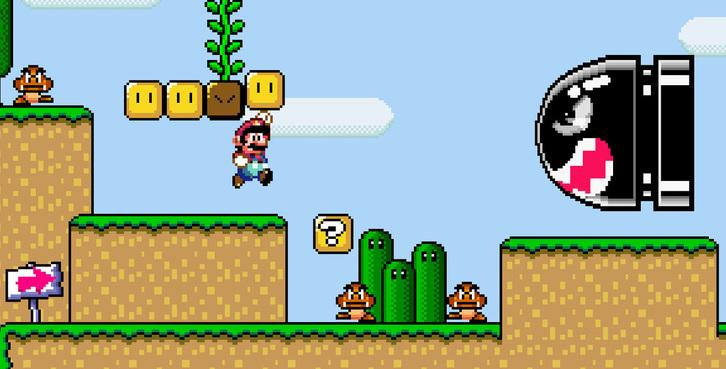 Super Mario Bros videogame Super Mario Bros gameplay