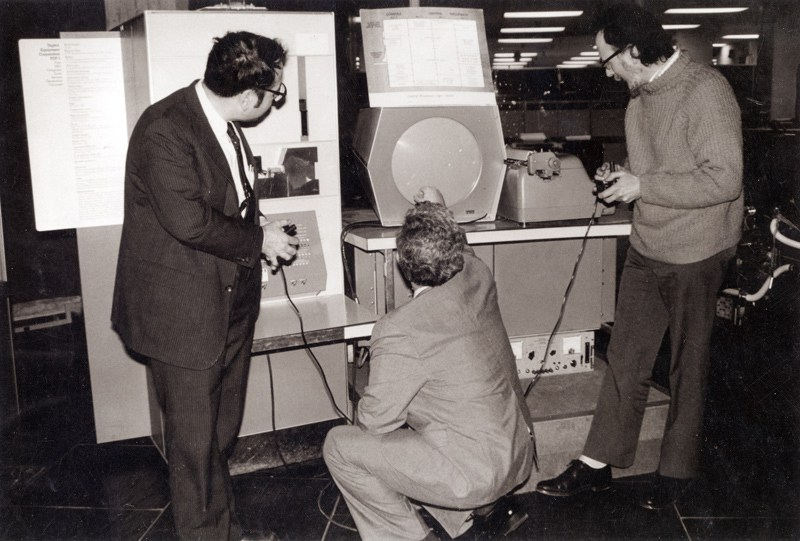 People who invented Spacewar, first computer game.