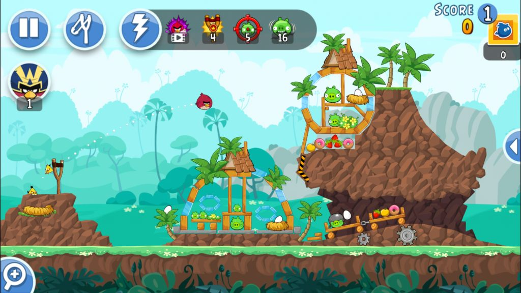 angry birds gameplay best videogame