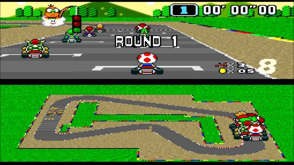 Super Mario Kart videogame best videogame