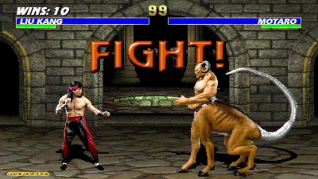 Mortal Combat gameplay