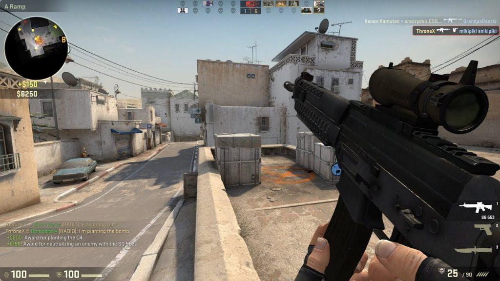 Counter-Strike gameplay videogame
